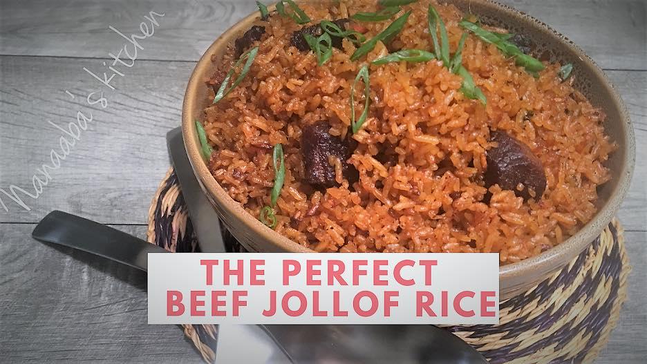 Nanaaba S Kitchen Jollof Rice Afrotide